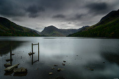 Old fence (Rico the noob) Tags: 2018 rock d850 lakedistrict 2470mm nature water mountains outdoor hills stones clouds 2470mmf28e trees tree travel forest rocks published sky dof uk longexposure landscape mountain
