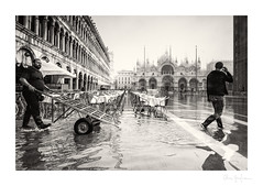 A regular day in Venice (bella_blue_star) Tags: aquaalta venice italy street sanmarco piazzasanmarco st marks square flood