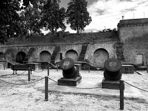 Kanonen in der Zitadelle