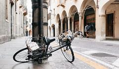 Panorama: Il Mattino (macplatti) Tags: xt2 xf1855mmf284rlmois bicicletta padua ilmattino newspaper street streetphotographer veneto bike fahrrad italy italian italianstyle vita