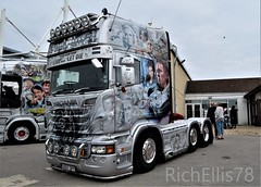 (richellis1978) Tags: truck lorry haulage transport logistics show truckfest peterbrough davidson live let die 007 james bond uo07spy