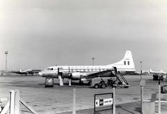 I-DOVE. Alitalia Convair 440 Metropolitan (Ayronautica) Tags: 1957 idove convair440metropolitan alitalia lhr egll heathrow propliner airliner scanned aviation ayronautica