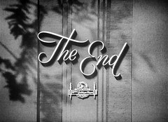 The End (Dill Pixels (THE ORIGINAL)) Tags: theend endtitle hollywood film movie cinema bw classic