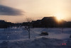 Snowy Sunset (MerperC) Tags: newjersey nj westwindsor suburban culdesac snow sunset mcmansion suburbs suburb