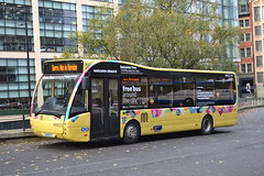 First Manchester 49923 YJ14BJY (Will Swain) Tags: manchester 3rd november 2018 greater city centre north west bus buses transport travel uk britain vehicle vehicles county country england english first 49923 yj14bjy