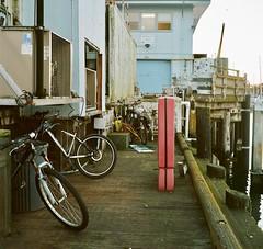 Flotsam and jetsam (bingley0522) Tags: rolleicordvb xenar75mmf35 portra400 halfmoonbay california dock fishingboats ordinarythings commonplacethings autaut coastalcalifornia