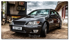 Lexus is200 se (SDsnr) Tags: lexusis200 car specialeffects linconshire uk turbo enginebay
