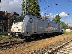 186 431-3 am 05.05.19 in Hoyerswerda (Freestyler26M) Tags: 186 431 bombardier retrack vtg viviane hoyerswerda rail logistics railpool