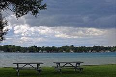 Bench Monday (Daryll90ca) Tags: bench benchmonday river park water thunderisland