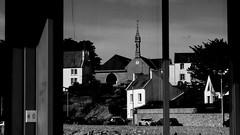 Church in the mirror - Portsall (patrick_milan) Tags: church reflection reflet miroir mirror glass window portsall finistere bretagne
