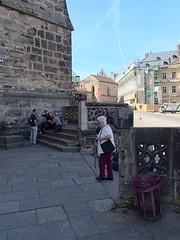 Bamberg_e-m10_1014257736 (Torben*) Tags: rawtherapee olympusomdem10 olympusm17mmf18 franken bayern frankonia bavaria bamberg dom bambergerdom cathedral oldlady altefrau stairs stufen portal