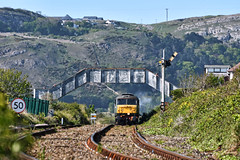 Home Time (whosoever2) Tags: uk united kingdom gb great britain nikon d7100 train railway railroad may 2019 wales llandudno deganwy brush type4 class47 47773 d1755 1z72 dorridge castle cluncastle gwr steam
