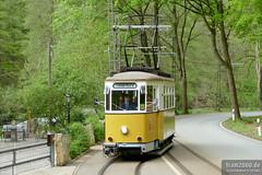 Kirnitzschtalbahn (D) (Robert Leichsenring) Tags: kirnitzschtalbahn deutschland strassenbahn streetcar strasenbahn badschandau germany museumswagen musemswagen tramway tramwaj tramvaj tram