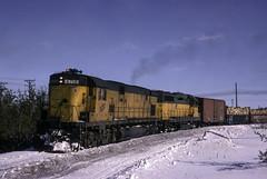 What is that Trailing Unit (ac1756) Tags: chicagonorthwestern cnw alco c628 6718 extraeast northwestern escanaba michigan