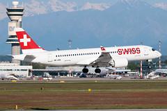 Swiss International Air Lines Airbus A220-300 HB-JCB | Milano - Malpensa (MXP-LIMC) | 1st May 2019 (Brando Magnani) Tags: aircraft airplane aviationphotography aviation controltower landing malpensa cseries bombardiercs300 bombardier airbusa220 airbus swissinternationalairlines swiss