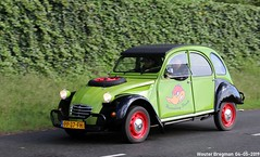 Citroën 2CV 1986 (XBXG) Tags: pp37fh citroën 2cv 1986 citroën2cv 2pk eend geit deuche deudeuche 2cv6 green vert citromobile 2019 citro mobile carshow expo haarlemmermeer stelling vijfhuizen nederland holland netherlands paysbas vintage old classic french car auto automobile voiture ancienne française france frankrijk vehicle outdoor