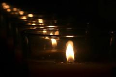 Fire Trail (-SOLO--) Tags: macromondays fire flame candle macro fourelements bokeh