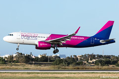 Wizz Air Airbus A320-232  |  HA-LYR  |  LMML (Melvin Debono) Tags: wizz air airbus a320232 | halyr lmml cn 6631 melvin debono spotting canon eos 5d mark iv 100400mm plane planes photography airport airplane aviation aircraft