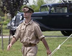 America goes to War -  Poquoson Museum Virginia (watts photos1) Tags: america goes war poquoson museum virginia vintage auto car man soldier army