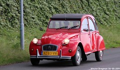 Citroën 2CV 1987 (XBXG) Tags: rz83vv citroën 2cv 1987 citroën2cv 2pk eend geit deuche deudeuche 2cv6 red rood rouge citromobile 2019 citro mobile carshow expo haarlemmermeer stelling vijfhuizen nederland holland netherlands paysbas vintage old classic french car auto automobile voiture ancienne française france frankrijk vehicle outdoor