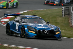 Black Falcon - AMG GT3 ({House} Photography) Tags: blancpain gt world challenge gp circuit race racing motorsport motor sport brands hatch uk kent fawkham track car automotive gt3 cars housephotography timothyhouse canon 70d sigma 150600 contemporary black falcon mercedes benz amg