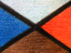 Earth, Water, Air, and Fire (Vallø) Tags: vallø danmark denmark 2019 indoor inside drawing tegning lines linjer closeup macro farver colors colours fourelements 5faves earthwaterairfire 10faves