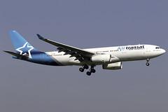Air Transat A330-200 C-GTSN at London Gatwick LGW/EGKK (dan89876) Tags: air transat airbus a330 a330200 a332 a330243 cgtsn london gatwick international airport 08r landing lgw egkk