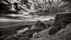 Quairaing B&W (petebristo) Tags: skye quairaing scotland isleofskye bw mono sunrise fineartbw