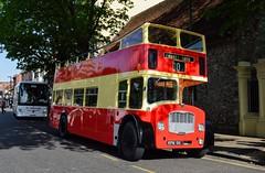 91 KPM91E (PD3.) Tags: bus buses psv pcv hampshire hants england uk fokab friends king alfred day winchester broadway cattle market station 2019 brighton hove bristol lodekka kpm91f kpm 91f 91