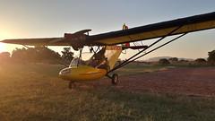 Aeroden (jblaverick) Tags: aeroden botswanaaviationart jonathanlaverick bantam microlight southafrica