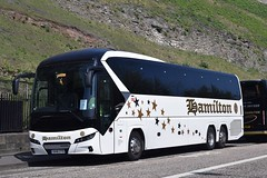 OU18ZTD  Hamilton, Uxbridge (highlandreiver) Tags: ou18ztd ou18 ztd hamilton coaches uxbridge london neoplan tourliner bus coach edinburgh