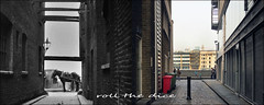 Bear Gardens`1930-2019 (roll the dice) Tags: london city squaremile dirty river thames old sad mad surreal local history retro bygone comparison nostalgia streetfurniture architectutre urban england uk classic oldandnew pastandpresent hereandnow globe changes collection canon tourism tourists vanished demolished williamshakespeare bankside wren theatre dark alley horsecart light wharfs bollards blackfriars view arena southbank people fashion thirties