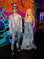 IMG_6603 (grooverman) Tags: las vegas trip vacation april 2019 madame tussauds wax museum statue canon powershot sx530 britney spears justin timberlake