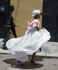 Carnival Dancer and Admirer (vmi63) Tags: adultparade carnival2019 usvirginislands saintthomas charlotteamalie