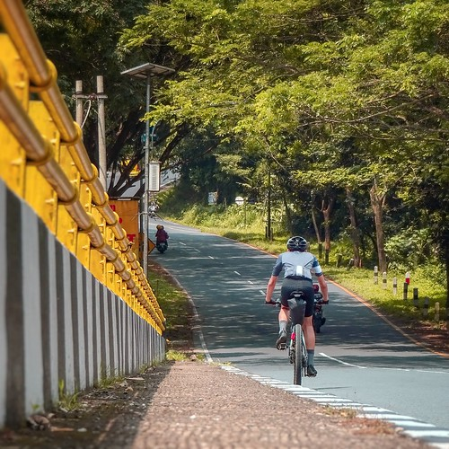 The Climb near Ciung Wanara Natural Park