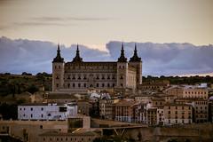 Alcázar de Toledo, atardecer (Fernando Two Two) Tags: alcazar toledo view panorama landscape spain españa