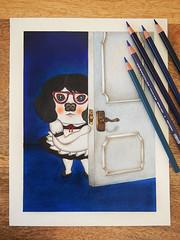 家政夫三田園出第三季了! (Susan T Wang) Tags: 家政夫三田園 coloredpencils drawing artwork illustration housekeeper