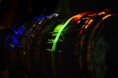 Rainbow Dundun Drum