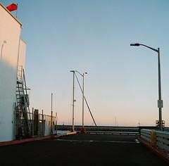 Verticals (bingley0522) Tags: rolleicordvb xenar75mmf35 portra400 halfmoonbay dock california coastalcalifornia eveninglight ordinarythings commonplacethings autaut