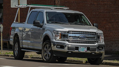 2018 Ford F-150 (mlokren) Tags: 2019 car spotting 2018 ford motor co company f150 fseries silver truck supercrew crew cab 4x4 4wd four wheel drive