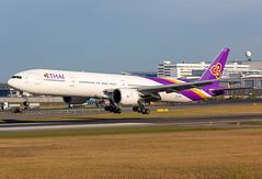HS-TKK Boeing 777-3AL(ER) Thai Airways International (Andreas Eriksson - VstPic) Tags: thai961 from bangkok hstkk boeing 7773aler thai airways international
