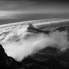 Majestic (digitalmavin) Tags: blackandwhite blackandwhitephotography beautiful ocean clouds cloudscape landscape landscapephotography nature mountain highlights shadows contrast amazing capetown southafrica africa sky francphotographyza