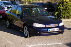 m2 (Mescola.dg) Tags: ford mondeo 24v rs 6 azul photo madrid spain españa racing