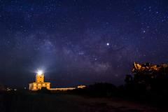 Vía Tabarca (*Nenuco) Tags: jesúsmr nikkor 18105 d5300 nikon alicante largaexposición noche estrellas mar faro víaláctea tabarca
