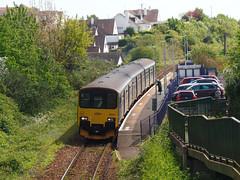 150001 Lympstone Village (1) (Marky7890) Tags: gwr 150001 class150 sprinter 2b78 lympstonevillage railway devon avocetline train