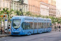 ZAG_2280_201507 (Tram Photos) Tags: tram strasenbahn tramvaj zagreb croatia tramway crotram tmk 2200 niederflur