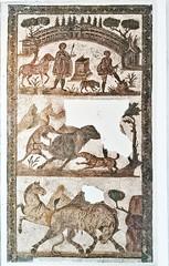 mosaico escenas de Caza Henchir Tougar siglo III Museo Nacional del Bardo Tunez (Rafael Gomez - http://micamara.es) Tags: mosaico escenas de caza henchir tougar siglo iii museo nacional del bardo tunez