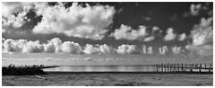 Caminos del mar (una cierta mirada) Tags: gola lagola beach fishing sea seascape nature landscape clouds cloudscape bnw blackandwhite sky outdoors santapola