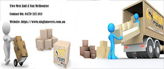 Two-Men-And-A-Van-Melbourne (Singh Movers) Tags: two men van furniture removalists house office student interstate