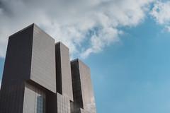 De Rotterdam (Pietro__c) Tags: derotterdam rotterdam skyscraper wilhelminapier building windows netherlands nederland architecture nuvole outside iso400 olanda sky d7200 f16rule f16 grattacielo nikon nikond7200 nikkor clouds view travelling 1855mm 2019 18mm